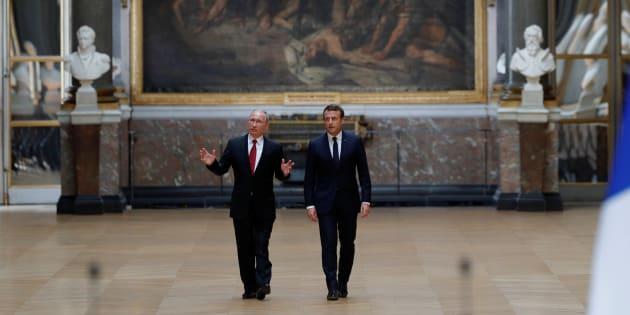 Macron - Poutine, un duel de références historiques à fleurets mouchetés