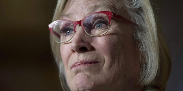 Crown-Indigenous Relations Minister Carolyn Bennett speaks during a news conference on Parliament Hill in Ottawa on Oct. 6, 2017.