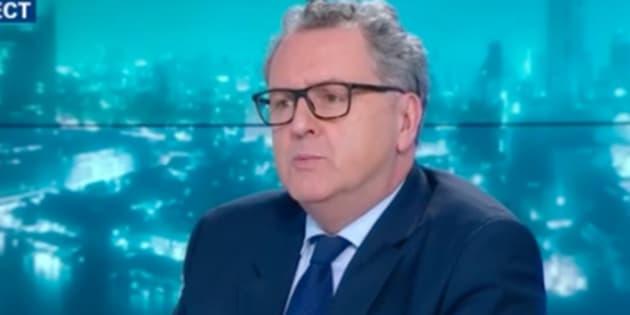 """Richard Ferrand trouve """"agaçante"""" l'information judiciaire ouverte à propos des Mutuelles de Bretagne."""