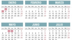 Calendario laboral de Madrid