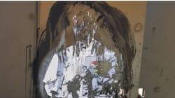Cancellato a Pompei il murale di Tvboy con Papa