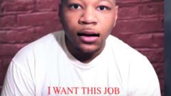 En réponse à une offre d'embauche, il rappe son CV et c'est