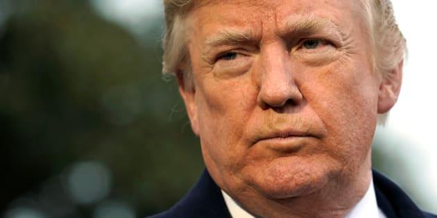 Donald Trump à la Maison Blanche le 15 décembre.