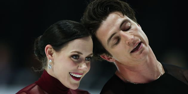 Tessa Virtue, left, is one of the best figure skaters on the planet. But does she have any superstitions?