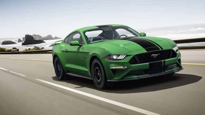 2019 Ford Mustang fulfills your Need for Green for St. Patrick's Day