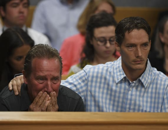 Watts' father cries as murder suspect hears charges
