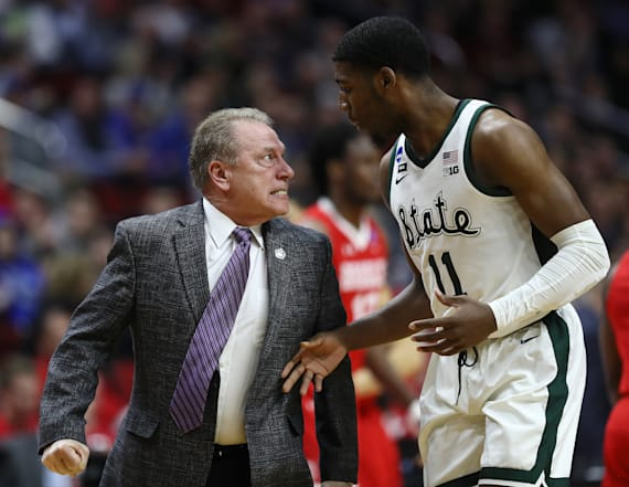 Michigan State coach Tom Izzo under fire after move
