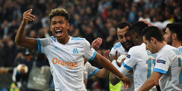 BORIS HORVAT via Getty Images                       Tirage au sort Europa League Olympique de Marseille Red Bull Salzbourg en demi-finale