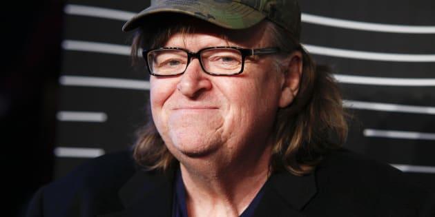 El director Michael Moore, en 2016 en un estreno en Nueva York (EE UU).