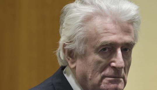 L'ex-président Radovan Karadzic condamné à vie pour le génocide en