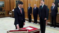 Ce détail a fait de la prestation de serment de Pedro Sanchez un jour historique en