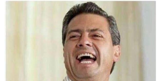 Meme sobre Enrique Peña Nieto y el incremento al precio de la gasolina.