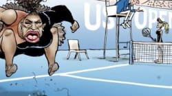 セリーナ・ウィリアムズの風刺画に「人種差別」と批判殺到 大坂なおみは金髪に?