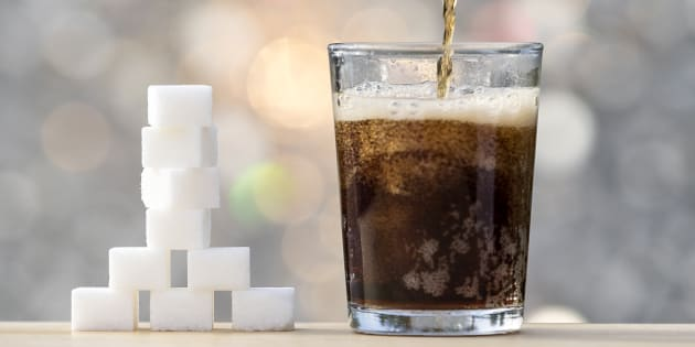 One in six teenage boys consumes at least a litre of soft drink every week.