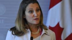Arabie Saoudite: la ministre Freeland persiste et