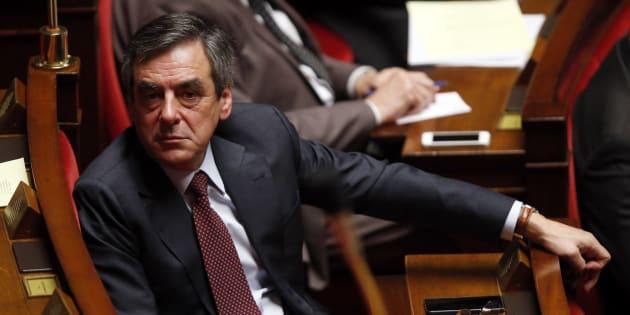 François Fillon à l'Assemblée nationale le 2 février 2016