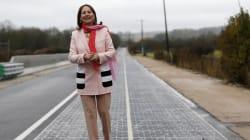 Royal inaugure la première route solaire, mais cette technologie française a encore tout à