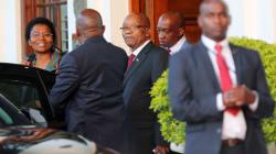 El partido oficialista le exige a Zuma renunciar a la presidencia de
