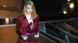 En una industria de hombres, Emma Stone cambia la forma de nominar al Mejor