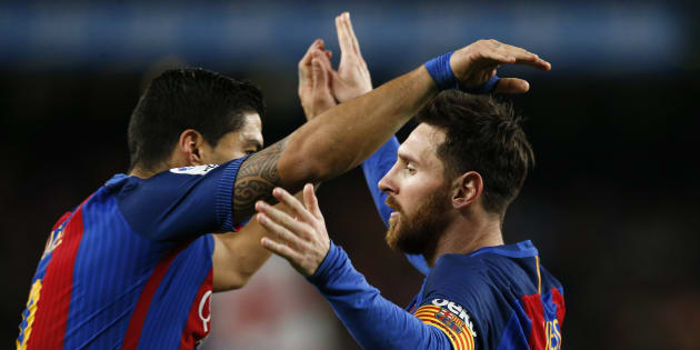Avec Luis Suarez et Lionel Messi, le FC Barcelone dispose de deux des meilleurs attaquants de la planète... le PSG est prévenu