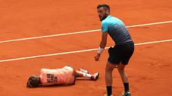 全仏オープンで選手とボールボーイが衝突 ⇒