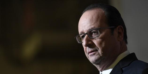 François Hollande - ici le 9 décembre 2016 - répond sèchement à Donald Trump après ses attaques sur l'Europe