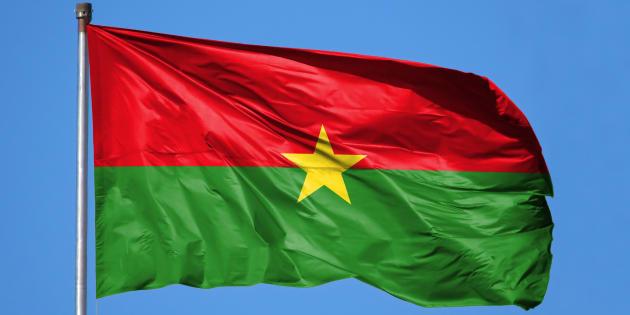 Drapeau du Burkina Faso.