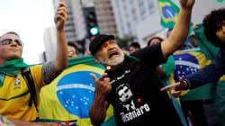 Nas ruas, eleitores comemoram a vitória de Bolsonaro pelo