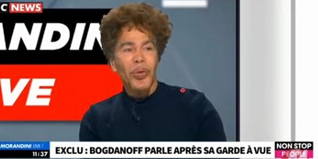 Igor Bogdanoff nie sa mise en examen et le récit de son ex-copine qu'il pense manipulée