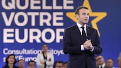 Macron en professeur d'Europe à