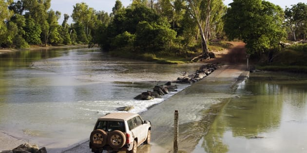 A man was killed by a crocodile at Cahill Crossing earlier this year.