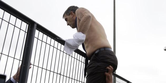 Chemise arrachée: jusqu'à 3 à 4 mois avec sursis pour des ex-salariés d'Air France