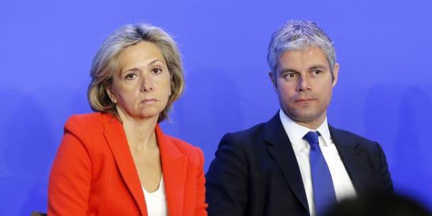 Valérie Pécresse et Laurent Wauquiez, deux lignes de plus en plus irréconciliables chez Les Républicains.