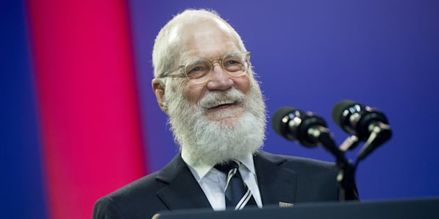 David Letterman (pictured in May 2016) called on Democrats to get a backbone and fight back against the new president.