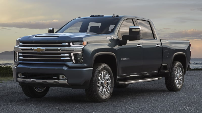Chevy Silverado HD High Country revealed with different grille