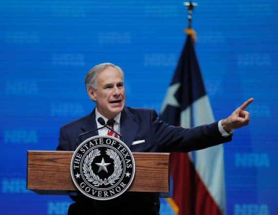 Texas Govenor still holding shotgun giveaway