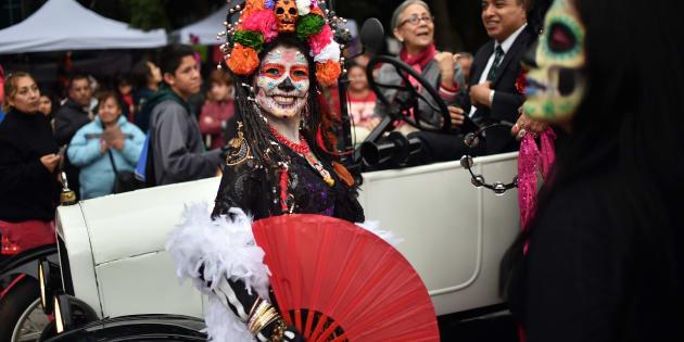 Las Catrinas Llegaron Al Paseo De La Reforma Para Dar Inicio A Las