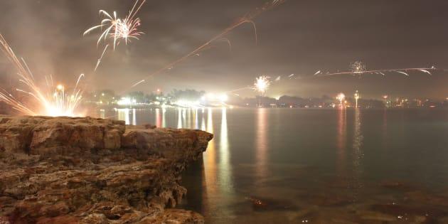 Territorians have again celebrated cracker night.