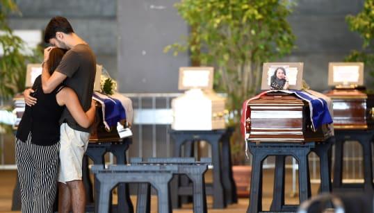 Des familles de victimes du drame de Gênes boycotteront les funérailles d'État ce
