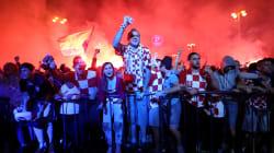 Les images de la liesse exceptionnelle à Zagreb après la qualification des