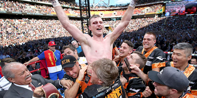 A WBO review confirmed Jeff Horn's win over Manny Pacquiao.
