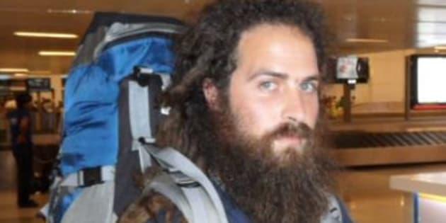 Mathieu Martin, un voyageur français de 32 ans, porté disparu en Argentine.