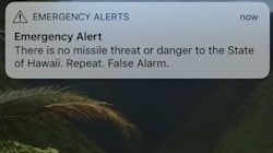 False Ballistic Missile Emergency Alert Sparks Panic In