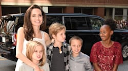 Angelina Jolie Glows As She Steps Out With Her Kids At