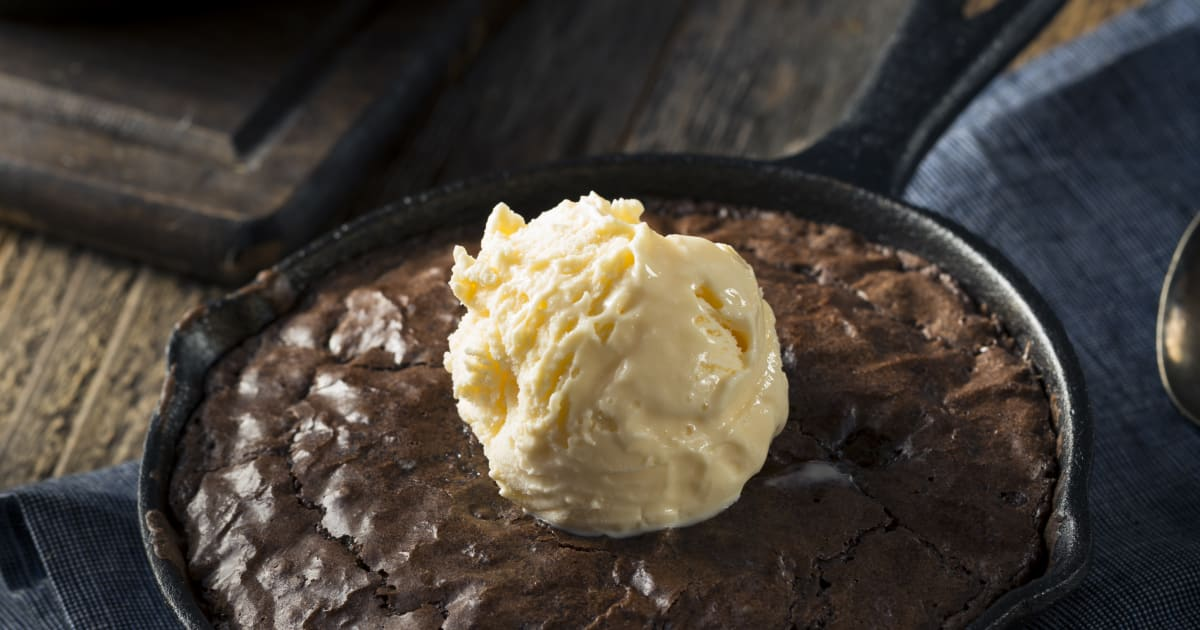 This skillet brownie recipe is all kinds of delicious malvernweather Image collections