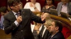 Puigdemont concentrará el referéndum en un 'conseller' y Junqueras será quien compre las
