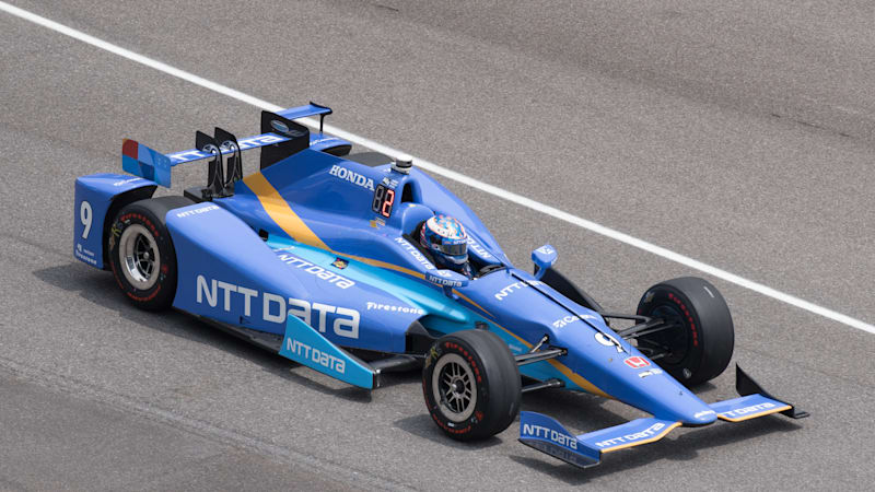 New Zealand's Scott Dixon wins Indy 500 pole; Alonso starts 5th