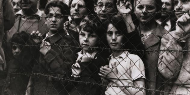 Enfants camp de Vittel (illustration)