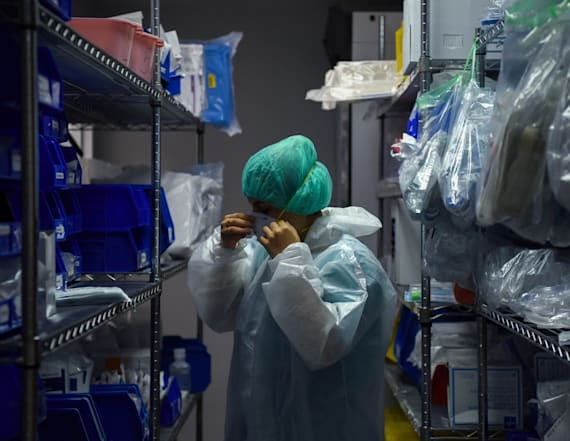 Medical companies warn PPE 'not sustainable'