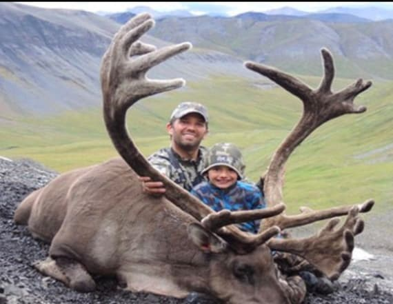 Group raffles off hunting trip with Trump Jr.